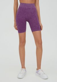 PULL&BEAR - Shorts - purple - 0