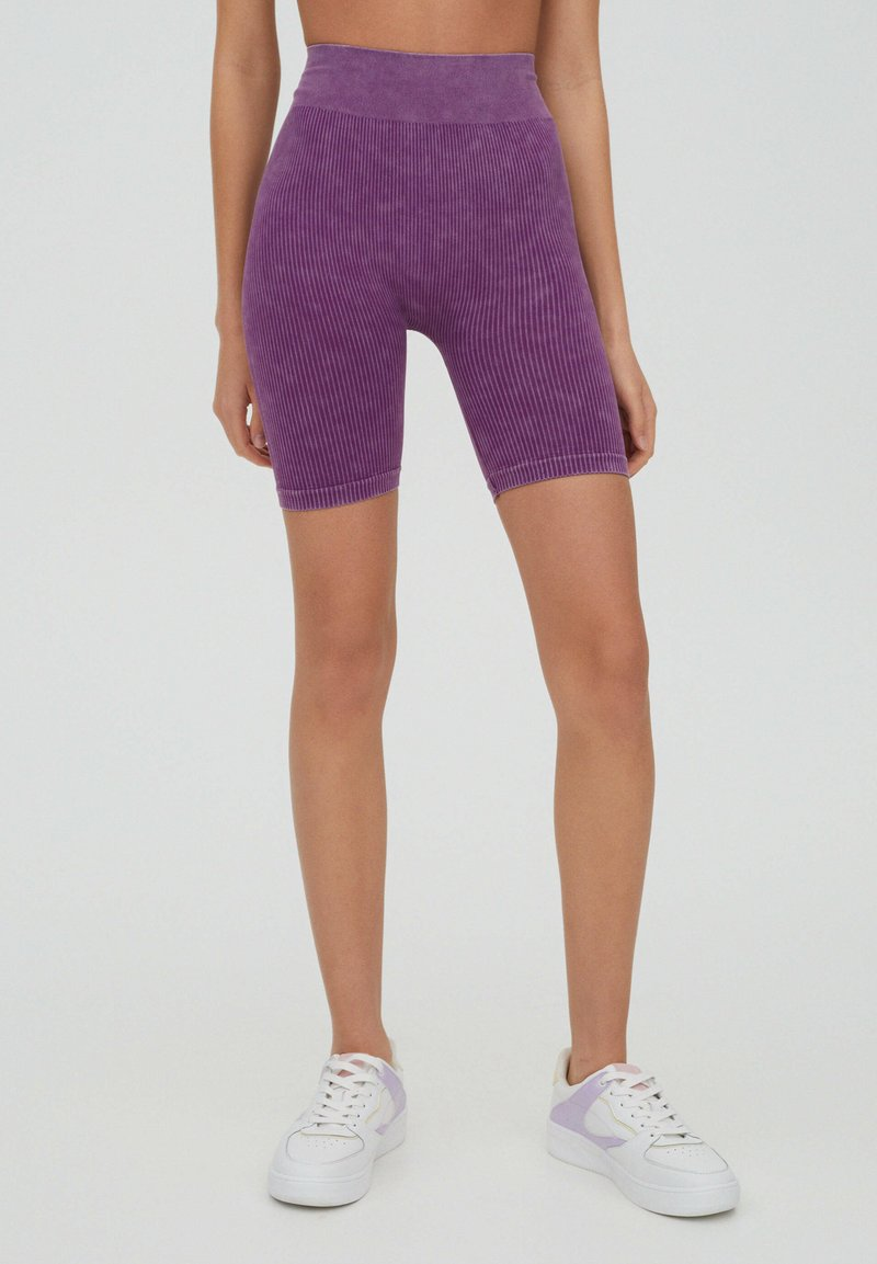 PULL&BEAR - Shorts - purple