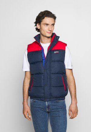 CORP VEST - Bodywarmer - twilight navy/multi