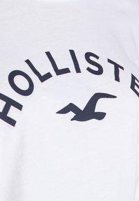 Hollister Co. - Top sdlouhým rukávem - white - 5