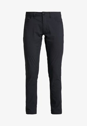 WAY TO GO PANTS - Pantaloni - rock black