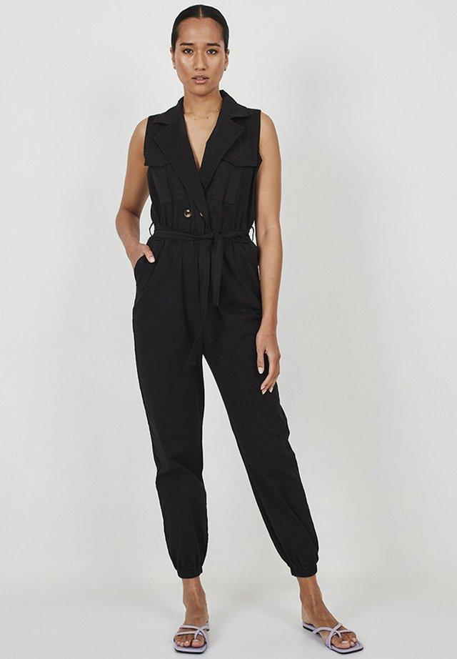 WORKER CAMILLE - Jumpsuit - black