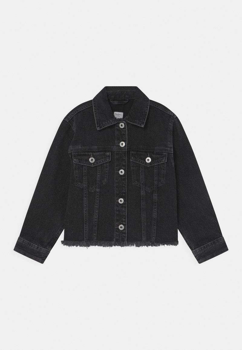 Pepe Jeans - NICOLE  - Jeansjacke - black denim