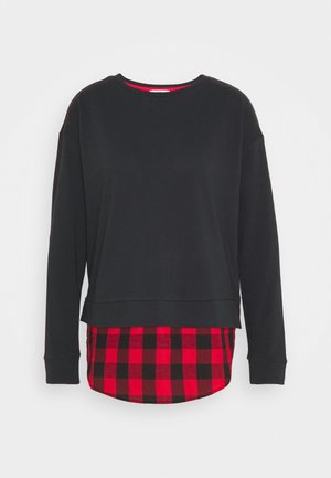 MIX - Sweatshirt - black