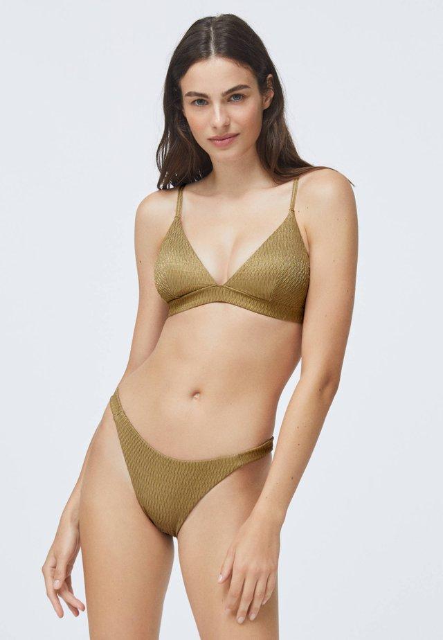 Góra od bikini - gold