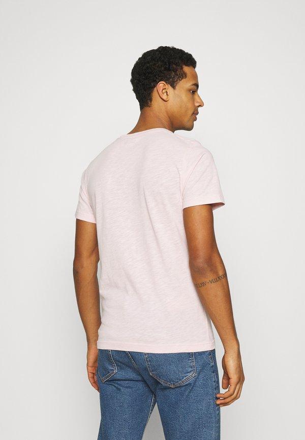 Abercrombie & Fitch ICON CREW 3 PACK - T-shirt basic - pink/green/blue/rÓżowy Odzież Męska JQQB
