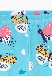 Walkiddy - FUNNY BUTTERFLIES 2 PACK - Leggings - Trousers - turquoise/dark blue - 4