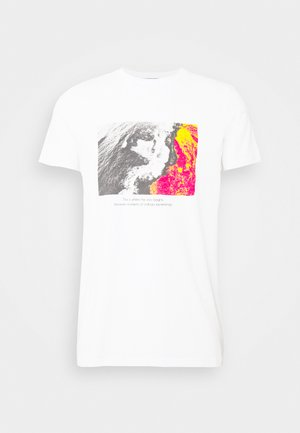DANNY TEE - Print T-shirt - white