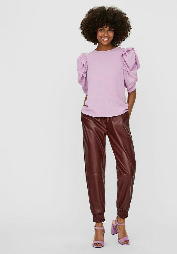Vero Moda Bluzka - violet tulle/liliowy STXX