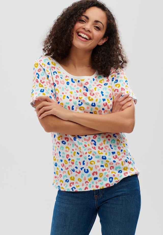 SYLVIE RAINBOW LEOPARD - T-shirt print - multi