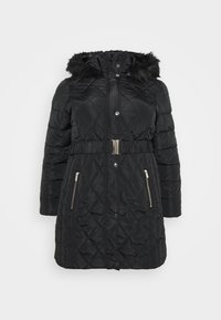 Dorothy Perkins Curve - DIAMOND LONG LUXE - Winter coat - black - 4
