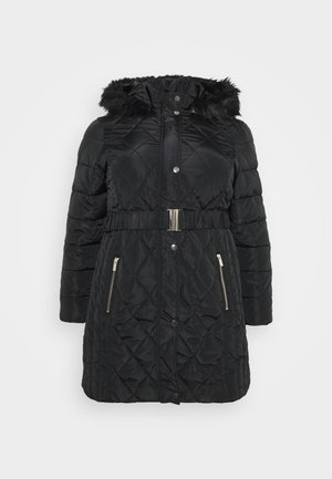 DIAMOND LONG LUXE - Winterjas - black
