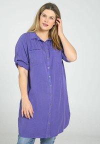 Paprika - Button-down blouse - purple - 0