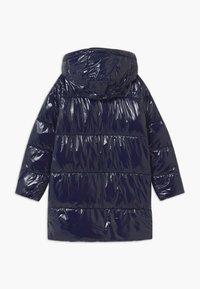 Tommy Hilfiger - HIGH SHINE GLOSSY LONG PUFFER - Winter coat - blue - 2