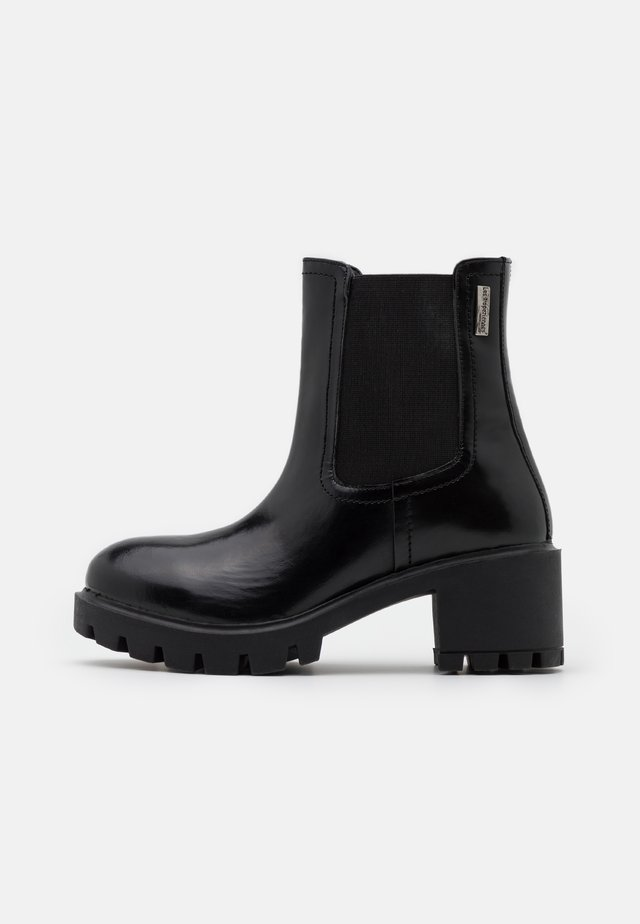 ZANGE - Platform ankle boots - noir