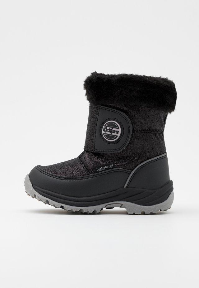JUMPSNOW WPF - Zimní obuv - noir brillant