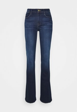 LE HIGH - Široké džíny - augusta
