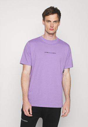 Printtipaita - violet