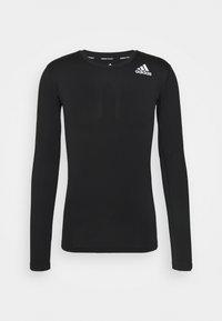 PRIMEGREEN COMPRESSION LONG SLEEVE T-SHIRT - Long sleeved top - black