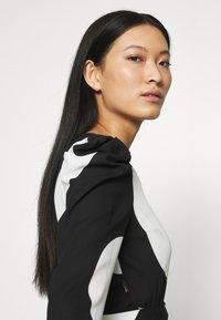 Who What Wear - WRAP  - Blouse - black/white - 4