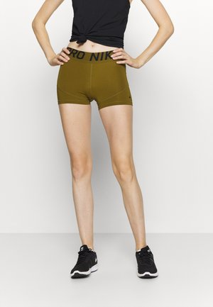 Leggings - olive flak/black