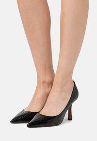 Pura Lopez - High heels - metal black - 0