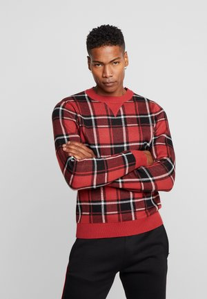 JORSVEN CREW NECK - Jumper - fiery red