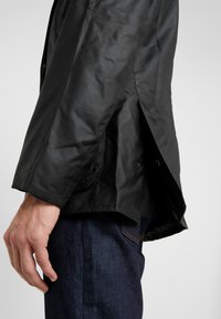Barbour - ASHBY WAX JACKET - Summer jacket - black - 3