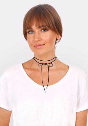 CHOKER SCHLEIFE - Necklace - schwarz