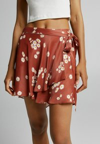 Bershka - Áčková sukně - brown - 3