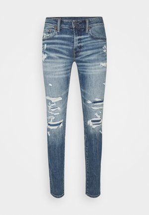 Jeans Skinny Fit - indigo fray