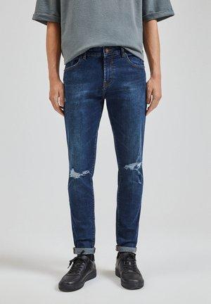 JEANS SKINNY FIT - Skinny džíny - dark blue