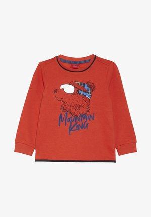 LANGARM - Sweatshirt - red