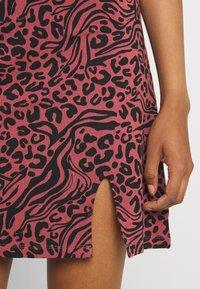 Even&Odd - 2 PACK - Sukienka z dżerseju - black/multi-coloured - 6
