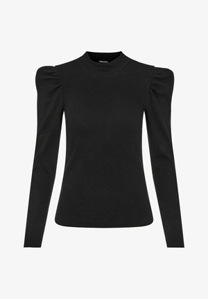 GERIPPT - Long sleeved top - black
