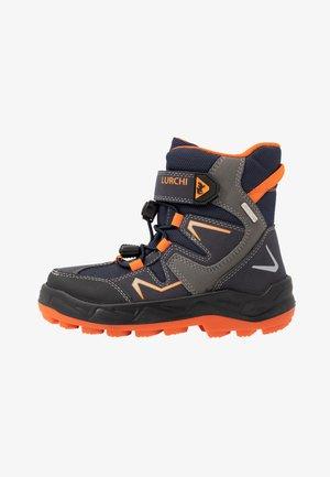 KALINO SYMPATEX - Lace-up ankle boots - atlantic/orange