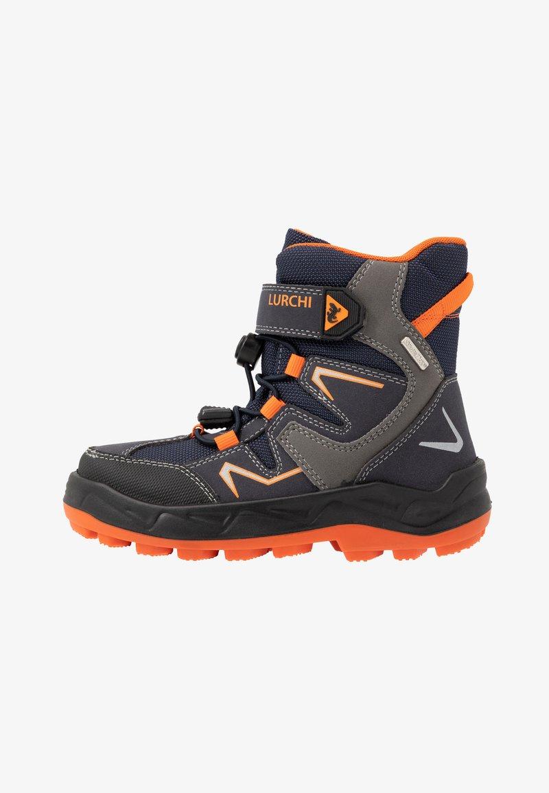 Lurchi - KALINO SYMPATEX - Lace-up ankle boots - atlantic/orange