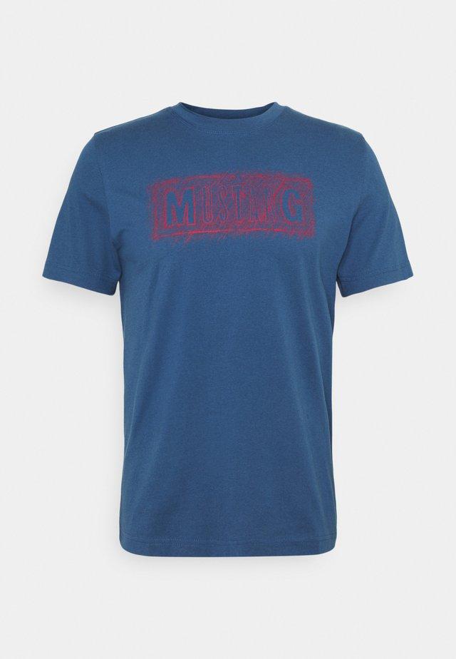 ALEX PRINT - T-Shirt print - ensigne blue