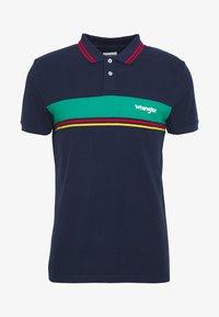 Wrangler - COLOURBLOCK - Polo shirt - navy - 4