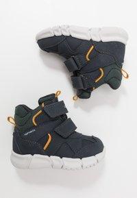 Geox - FLEXYPER BOY ABX - Winter boots - navy - 0