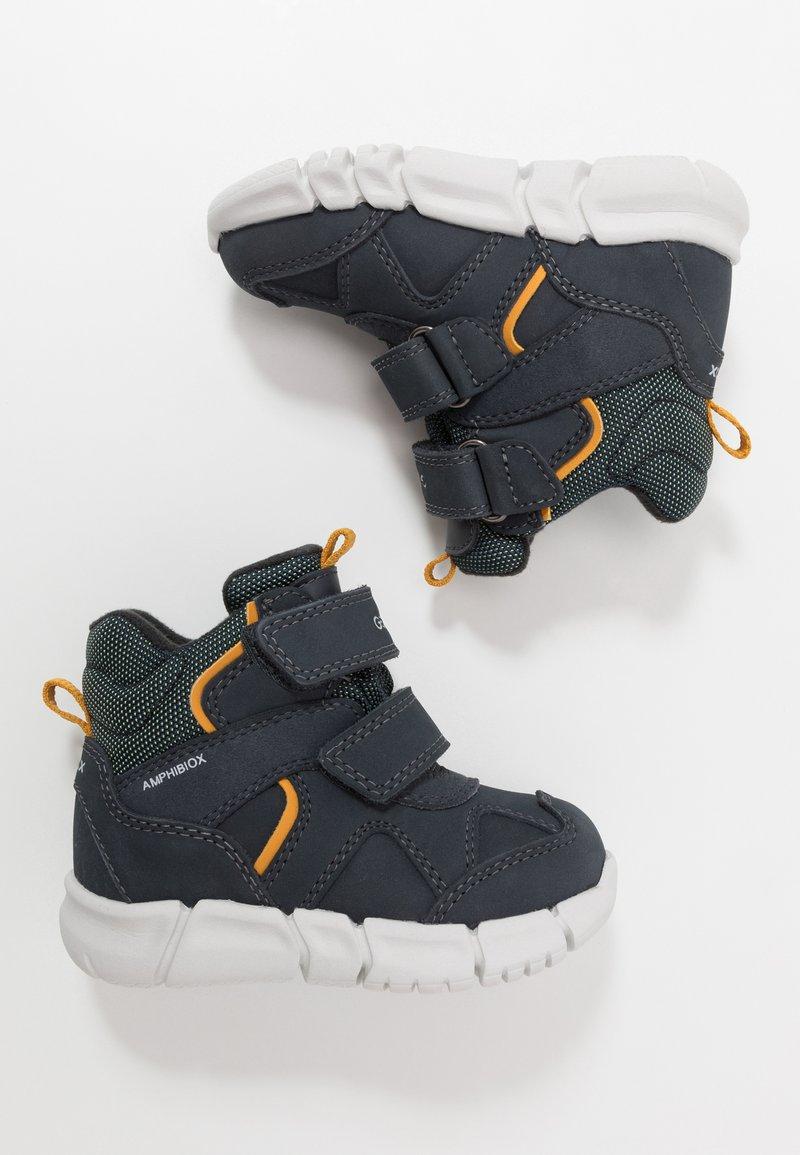 Geox - FLEXYPER BOY ABX - Winter boots - navy