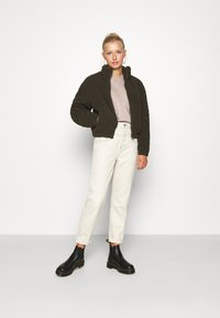 New Look - CROP - Sweter - mid pink - 1