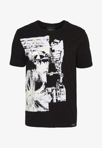 3.1 Phillip Lim - POSTCARD PERFECT TEE - T-shirt con stampa - black - 5