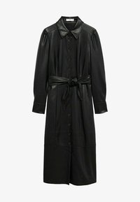 Mango - CINTIA - Shirt dress - schwarz - 6