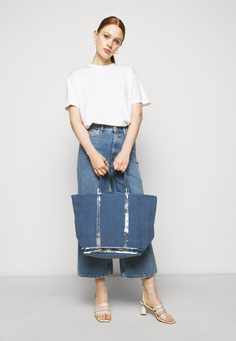 Vanessa Bruno - CABAS MOYEN - Handbag - chambray