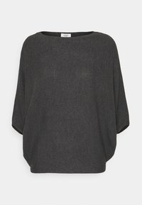 JDY - JDYNEW BEHAVE BATSLEEVE - Strickpullover - dark grey melange - 4