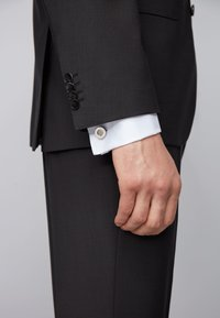 BOSS - T-EDMUND - Cufflinks - silver - 1