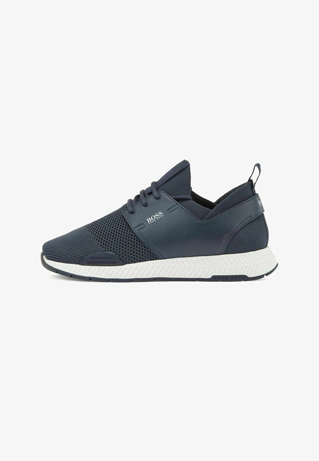 TITANIUM - Sneakers laag - dark blue