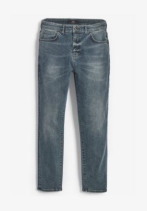 WITH STRETCH - Straight leg jeans - green