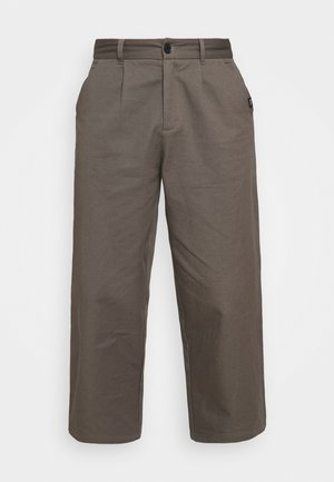 PLEATED TROUSER - Tygbyxor - charcoal
